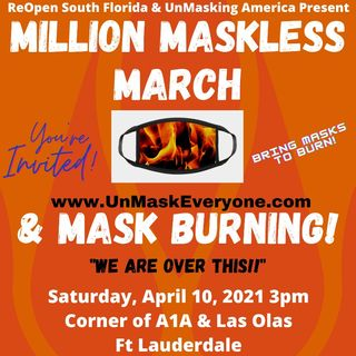Episode 1282 - Million Maskless March in Fort Lauderdale Beach