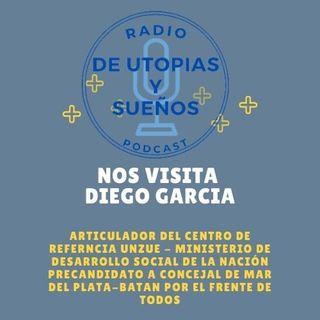 Diego Garcia Pre-Candidato a Concejal de Mar del Plata-Batan por el Frente de Todos