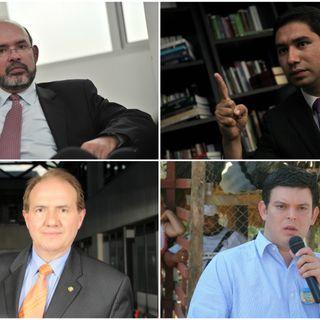 Interrogatorio del exmagistrado Leonidas Bustos al fiscal Jaime Camacho