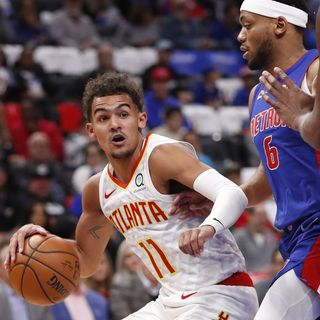 Trae Young And Leaving The Pistons Restless