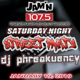 JAM'N 107.5 SATURDAY NIGHT STREET PARTY 01/19/19