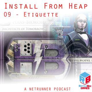 09 - Etiquette