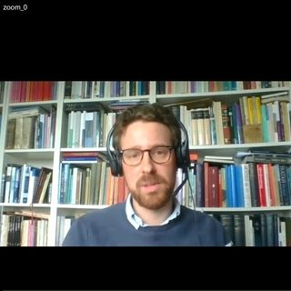 3. s. e. påske. Frederik Poulsen i samtale med Kristoffer Garne