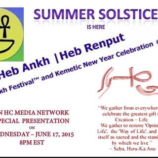 Summer Solstice & the Kemety New Year