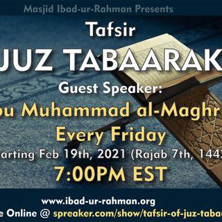 01 Fridays: Tafsir Juz Tabaarak