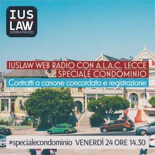 Speciale CONDOMINIO - A.L.A.C. Lecce: Contratti a canone concordato e registrazione