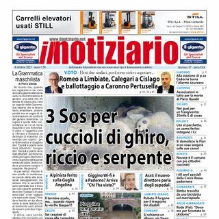Prima Pagina - Il Notiziario di venerdì 8 ottobre