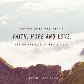 Episode 44: 1 Corinthians 13:13 (February 14, 2018)