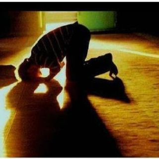 Concentrating On The Answer To Prayer.