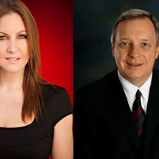 Leslie interviews Senator Dick Durbin on Common Sense Gun Reforms
