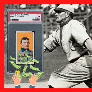 MLB: Pagaron 6.6 MILLONES por tarjeta de HONUS WAGNER