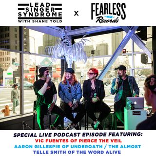 LIVE FROM LOS ANGELES!!!  Ft. Vic Fuentes (Pierce The Veil), Aaron Gillespie (Underoath), Telle Smith (The Word Alive).