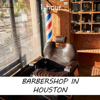 Barbershop in Houston | 1 hour HAIRDRESSER Sound Podcast | White Noise | ASMR sounds for deep Sleep | Relax | Meditation | Colicky