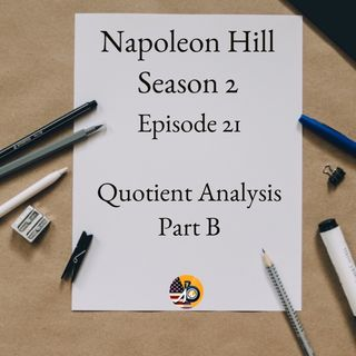 Positive Mental Attitude: Season 2 - Episode 21 - Quotient Part B