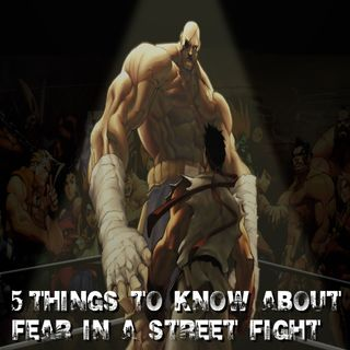 10 THINGS TO KNOW ABOUT FEAR IN A STREET FIGHT