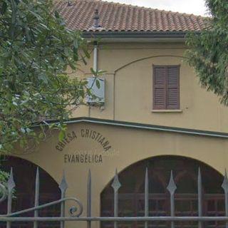 Atti vandalici alla chiesa battista di Varese