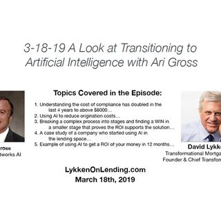 3-18-19 Hot Topic - A Look at Transitioning to Artificial Intelligence