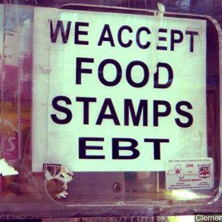 Food Stamp Line