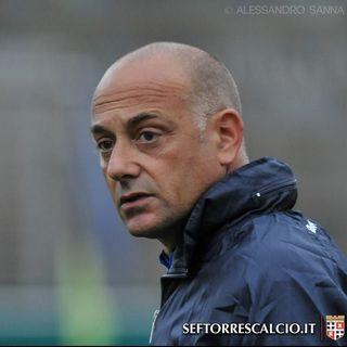 Mister Ferazzoli commenta l'1-1 contro l'Albalonga