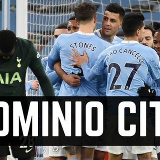 Guardiola strapazza Mourinho. Manchester City Tottenham 3-0: top e flop