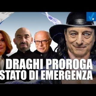 Draghi proroga lo stato di emergenza - Il Controcanto - Rassegna stampa del 16 Giugno 2021