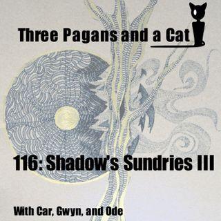 Episode 116: Shadow's Sundries III