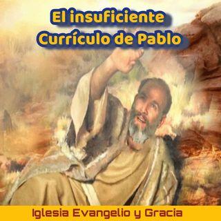 El insuficiente curriculum de Pablo