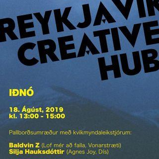 Reykjavík Creative Hub: Baldvin Z & Silja Hauksdóttir