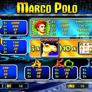 Slot MARCO POLO Novomatic
