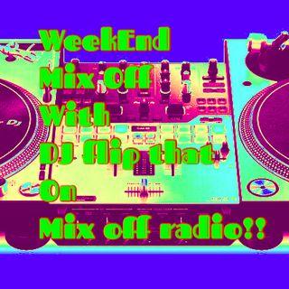 WeekEnd Mix Off 6/12/20 (Live DJ Mix)