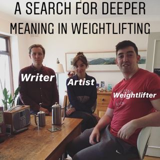 A Search for Deeper Meaning in Weightlifting, with an Artist & a Writer