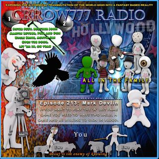 Mark Devlin guests on Crrow777 Radio, Episode 213, Hour 1
