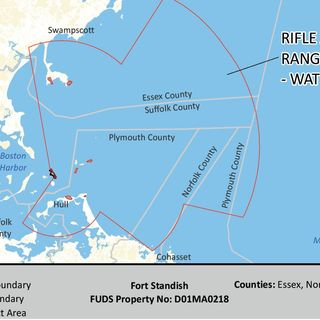 Army Corps Issues Safety Info About Potential Boston Harbor Munitions