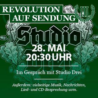 Revolution auf Sendung #031 - Im Gespräch mit Studio Drei