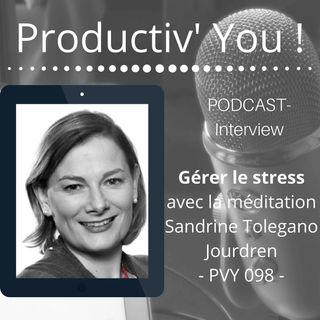 Gérer le stress avec la méditation-  PVY 098