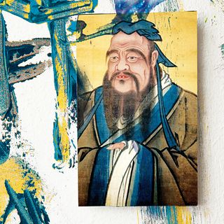 Lu Xun, Confucio nella Cina moderna