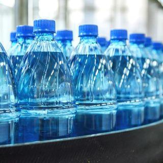 Bottiglia di plastica dalla CO2