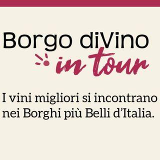 Luca Cotichini fondatore di Borgodivino in tour l'evento a Grottammare dal 23 luglio 2021 a Radio Arancia