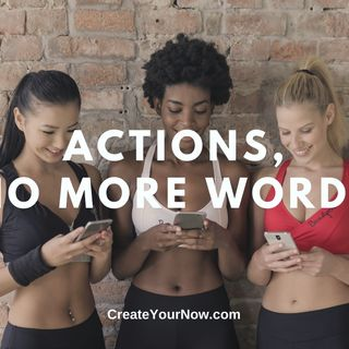 2336 Actions, No More Words