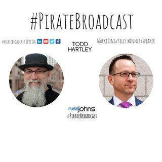 Catch Todd Hartley on the PirateBroadcast