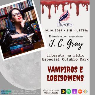 #027 - Outubro Dark Literata - Vampiros e Lobisomens