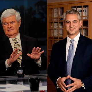 Newt Gingrich, Dr. David Samadi & Richard Baris