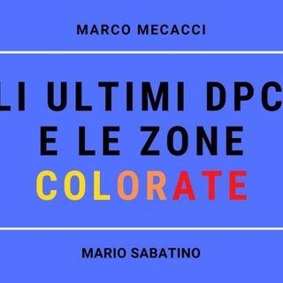 Gli ultimi DPCM e le zone colorate