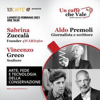 Sabrina Zuccalà, Aldo Premoli e Vincenzo Greco: Arte, fede e tecnologia della conservazione