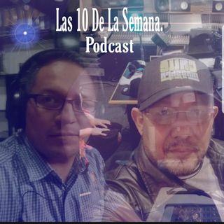 Las Diez De La Semana El Podcast De Salsa.  Episodio 1