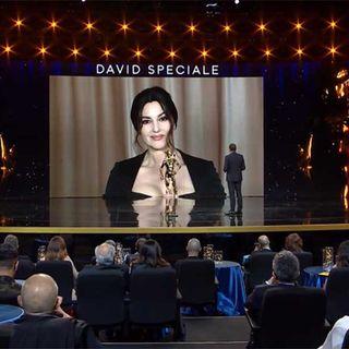 David di Donatello 2021 Premi Speciali Monica Bellucci Sandra Milo