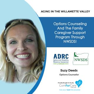 11/7/20: Suzy Deeds, Options Counselor, Northwest Senior & Disability Services | OPTIONS COUNSELING AND FAMILY CAREGIVER SUPPORT
