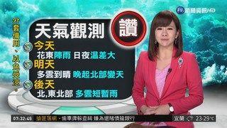 09:00 康芮颱風遠離 明週六降雨空檔 ( 2018-10-05 )