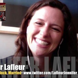Wedlock! Jennifer Lafleur laughs it up!
