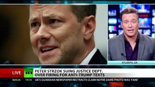 Ben Swann ON Anti Trump FBI agent Strzok has a Flimsy Case Against DOJ and FBI